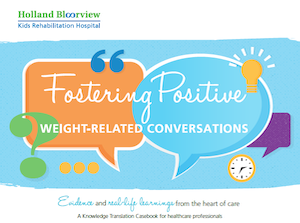 Fostering Positive Weight-Related Conversations Flyer