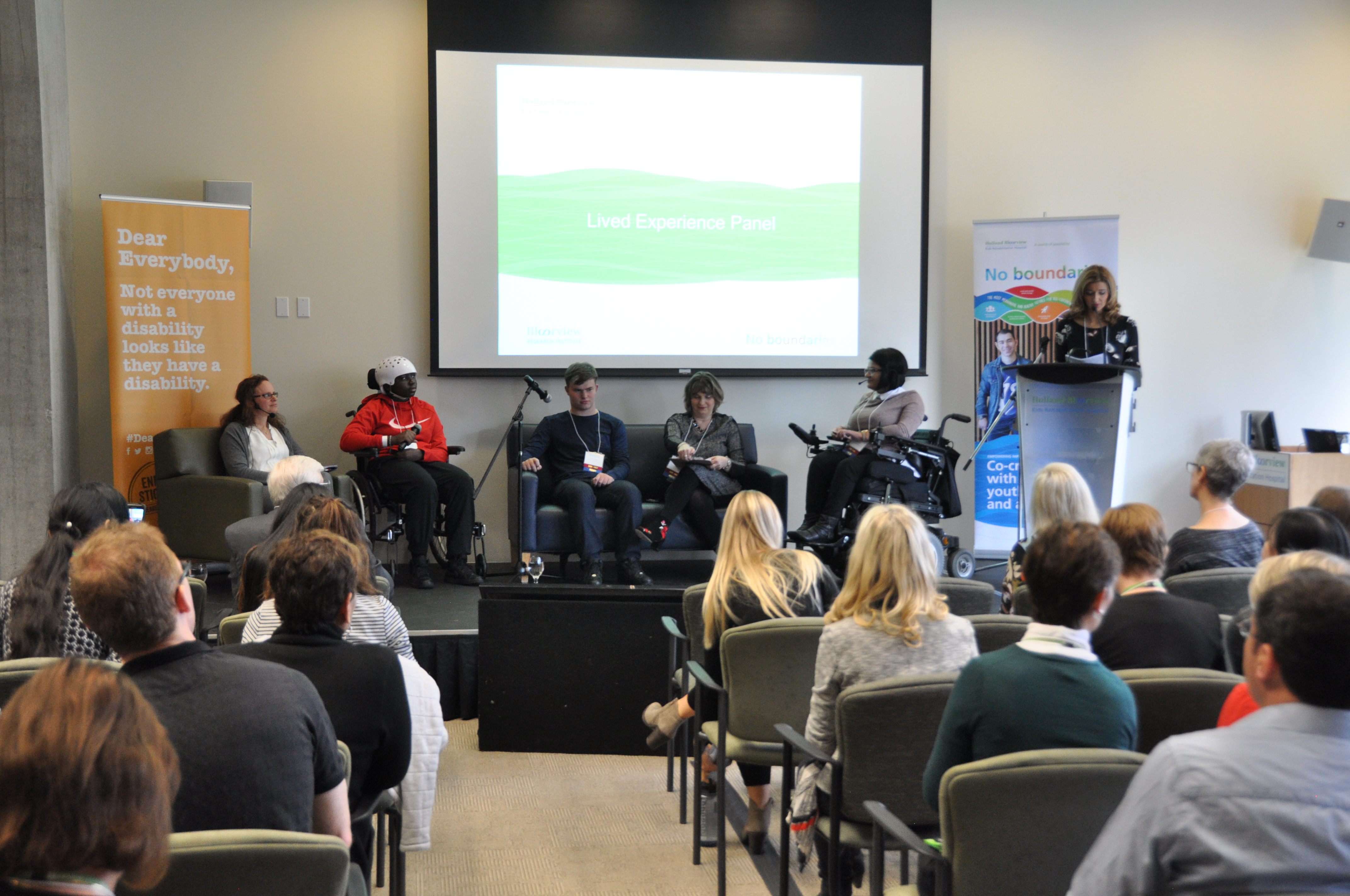 Lived Experience panel