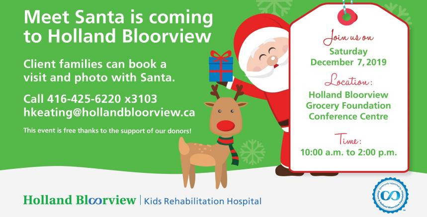 Santa at Holland Bloorview
