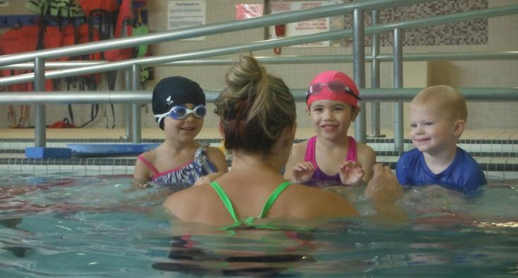 Infant and Child Swimming Lesson