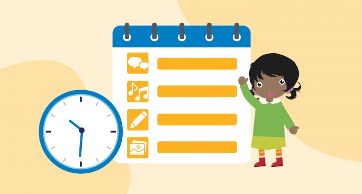 FAMILY TIPSHEET: Sample Daily Learning Schedule