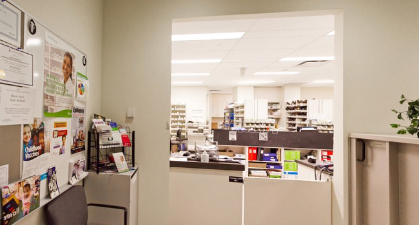 The pharmacy is responsible for the safe and effective use of medications at Holland Bloorview