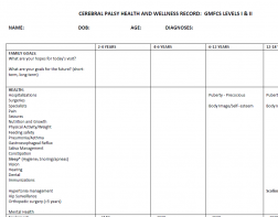 CP Health and Wellness Record PDF