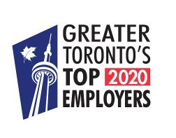 Greater Toronto's Top Employers 2020 award