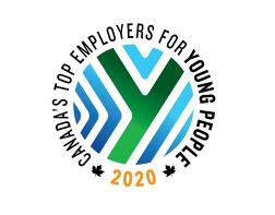 Canada's Top Employers for Young People 2019 award
