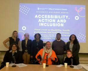Holland Bloorview's executive lead of equity, diversity and inclusion, Meenu Sikand, took part in a panel discussion hosted by the University of Toronto's Faculty of Medicine's Office of Inclusion and Diversity