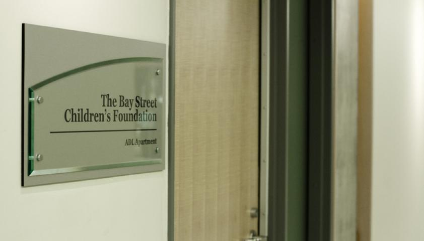 The Bay Street Children's foundation: ADL Apartment