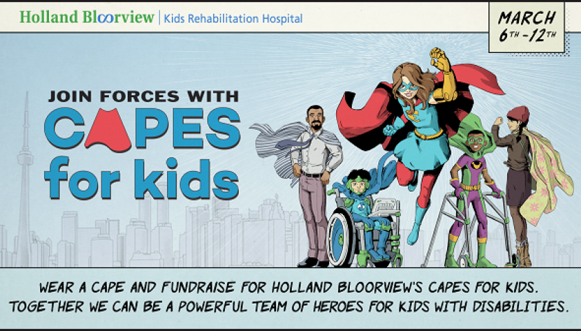 Join forces with us! http://capesforkids.ca/