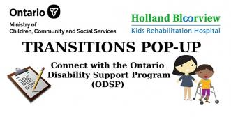 transitions banner for ODSP event